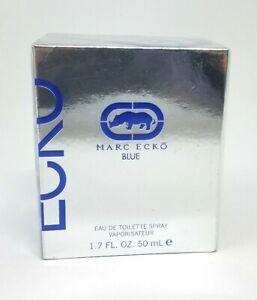 Marc-Ecko-Blue-Eau-de-Toilette-Spray-1-7-fl-oz-50-mL-NEW-IN-BENT-SEALED-BOX