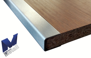AY profile for Machined Plates 1,0mm L = 1000mm Stainless Steel 1.4301 Touch K320.
