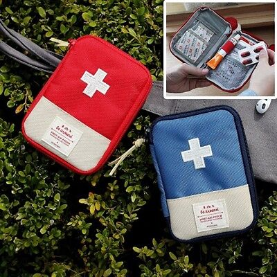 2NUL Emergency First Aid Kit Tool Pouch Empty Travel Organizer Inner Bag Pocket