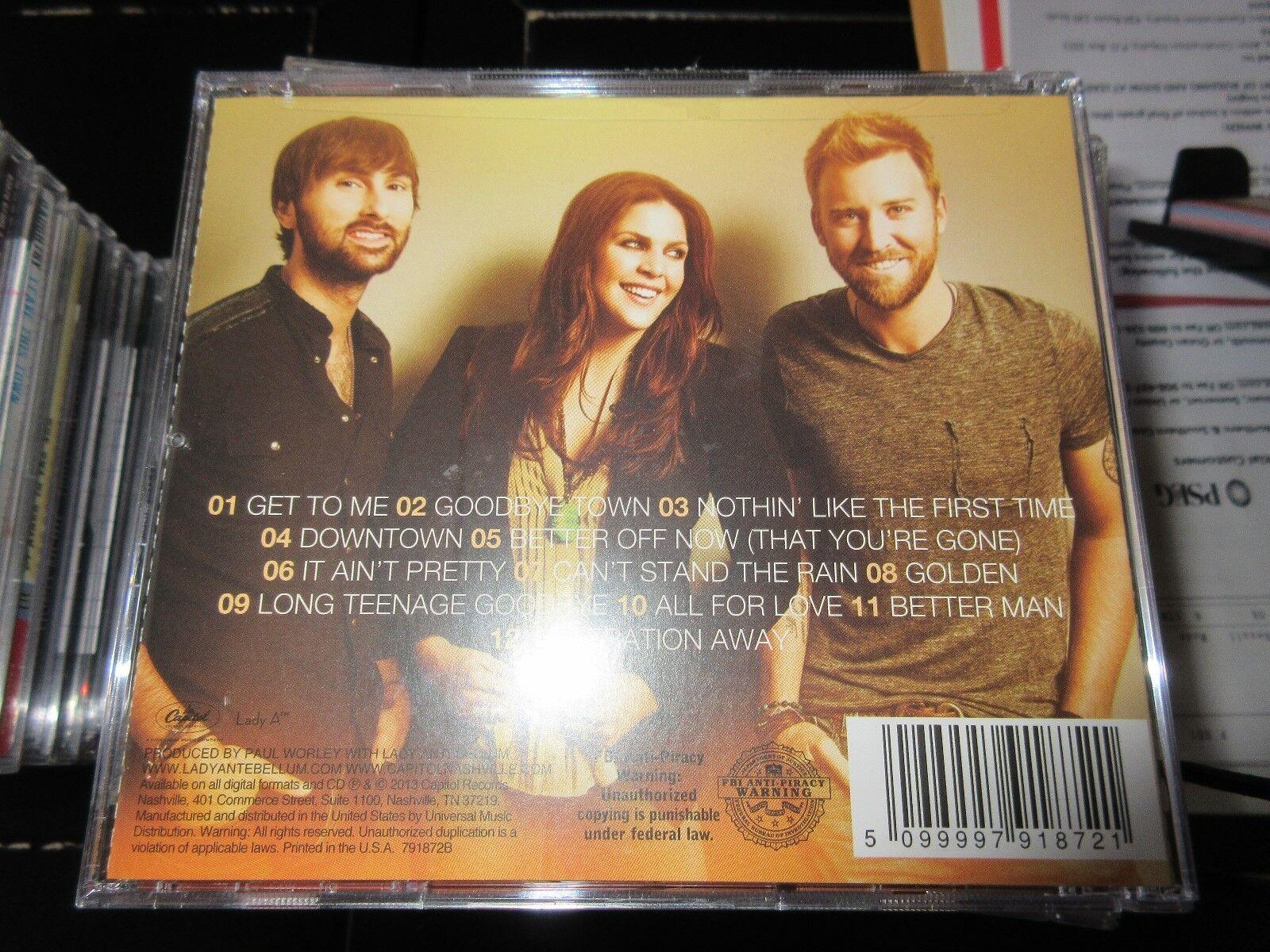 Lady Antebellum , Golden , CD