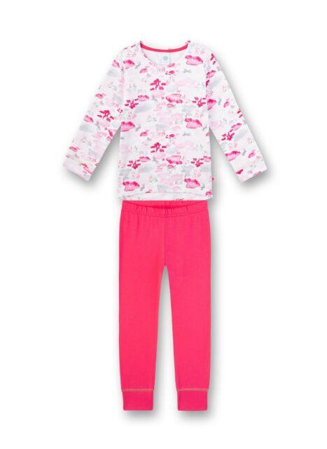Niñas Pijama Caballo, Rosa Blanco de sanetta Gr.116-152