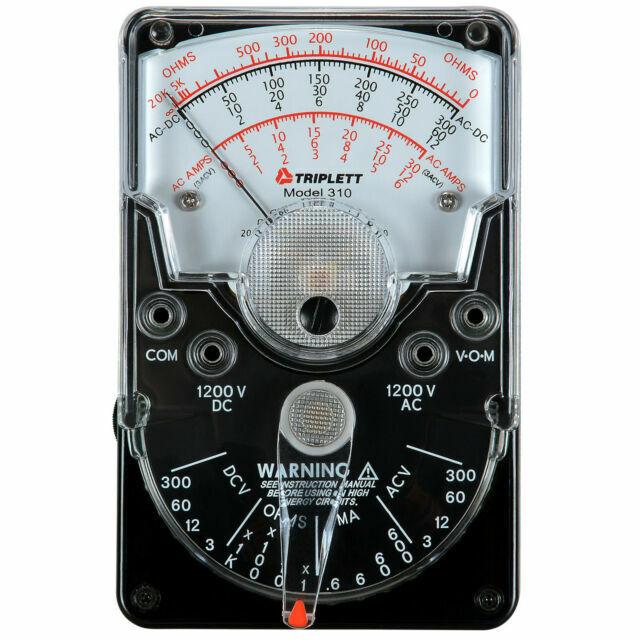 Model 310 Triplett Analog Vom Multimeter 3018 for sale online