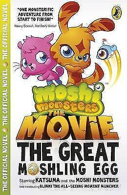 Moshi Monsters: The Movie: The Great Moshling Egg, Unknown, Very Good Book