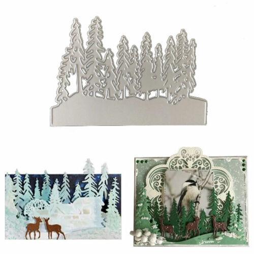 Xmas Metal Cutting Die Cut Die Mold Christmas Tree Scrapbook Craft Mould DIY