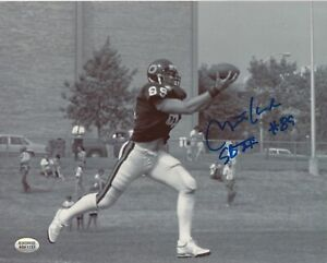 Mitch-Krenk-Chicago-Bears-Autographed-8x10-Photo-With-Inscription-TOUGH-AUTO