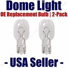 Dome Light Bulb 2-Pack OE Replacement - Fits Listed Chrysler Vehicles - 906