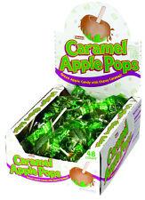 Case Lot Tootsie Roll Brand Caramel Apple Lollipops Lolipops - 48 count