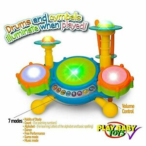 VTech, KidiBeats Drum Set, Toy Drums, Musical Toy, Learning Toy, FREE SHIPPING!!