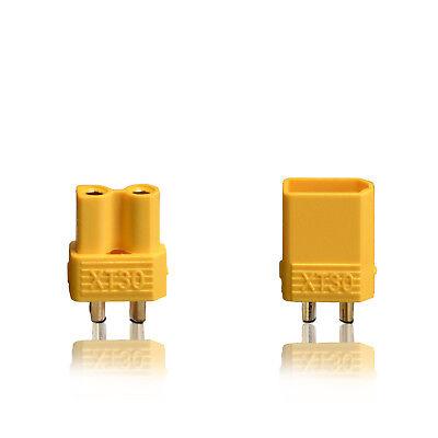 Nuova Moda Alta Tensione Xt30 Spina Presa Connettori Oro 1 Paio Partcore 100214 Impermeabile, Resistente Agli Urti E Antimagnetico