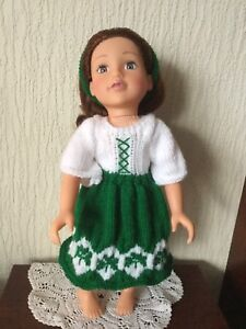 HAND-KNITTED-DOLLS-CLOTHES-FOR-AMERICAN-GIRL-DESIGNAFRIEND-AND-SIMILAR-AG85
