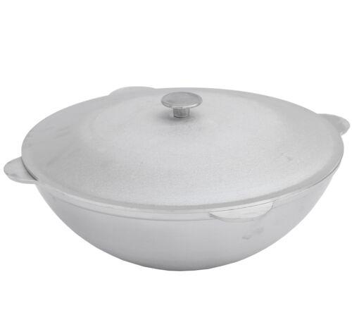 chaudière Tartares Kazan vaisselle Rôtissoire Казан avec couvercle de Aluguss de Gela 24 12 L