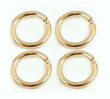 50x 4mm 19 gauge 14k Gold Filled round Open O Jump Ring charm connector GR01