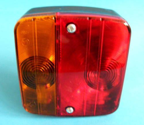 Lámpara de luz trasera de 4 vías cluster para remolque