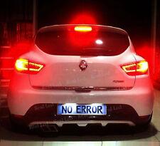 2x T10 9SMD LED SIDELIGHTS CANBUS FREE ERROR WHITE 6000K RENAULT CLIO 4 IV MK4