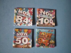 Dolls-House-miniatures-music-album-covers-NOW-THAT-039-S-WHAT-I-CALL-MUSIC