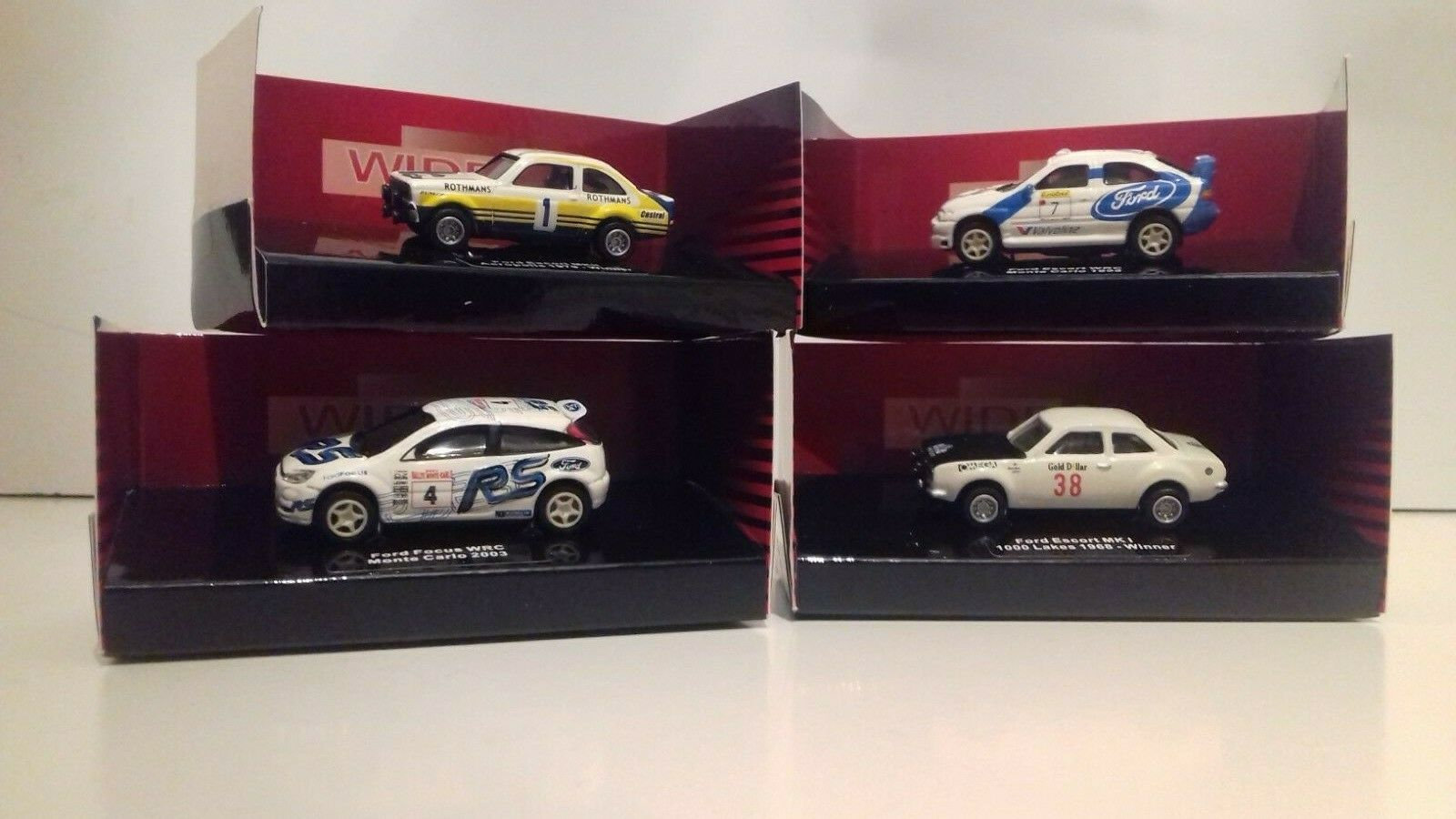 Ford Escort Focus Rally Cars 1 87 Scale.WIDEA Die- Cast