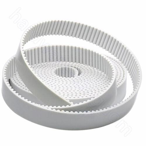 3M Open Timing Belt XL Polyurethane Steel Wire Synchronous Wheel Belt Width 15mm