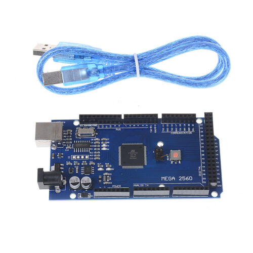 Mega 2560 R3 Microcontroller Board Compatible CH340G Arduino With USB Cable  /_ps