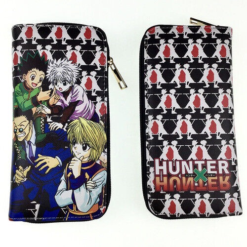 Hunter x hunter PU Wallet long Purses Wallets handbag gifts gift hot