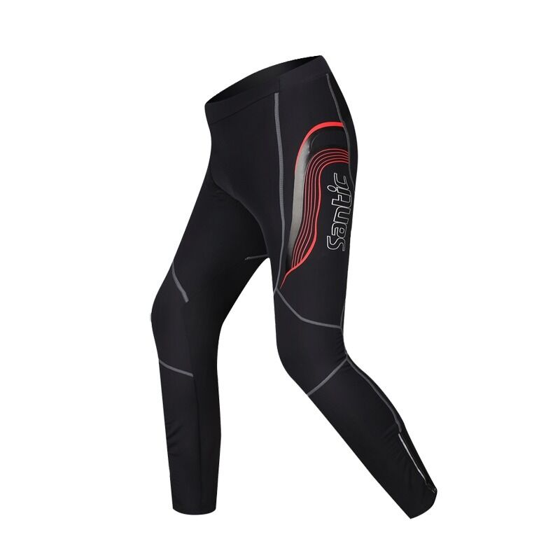 Men's Cycling Pants Bike Tights Padded Bicycle Pants XL-3XL for Spring
