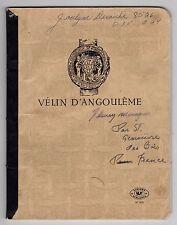 JACQUES MESRINE : POÈME AUTOGRAPHE + CAHIER DE PRISON DE SA MAITRESSE (1973)