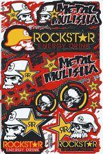 New Rockstar Energy Motocross ATV Racing Graphic stickers/decals. (st181)