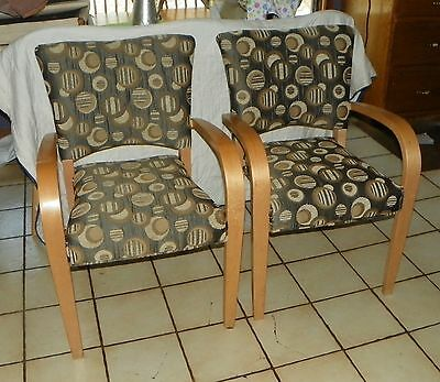 ac139 Chairs Pair Of Retro Mid Century Birch Armchairs To Invigorate Health Effectively