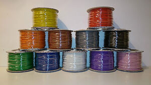 Wire-100-Metres-of-Layout-Wire-on-Reel-7-Strand-0-2mm-various-colours-available