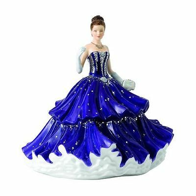 New Royal Doulton Waterford Crystal Ball Graceful Promenade Figurine