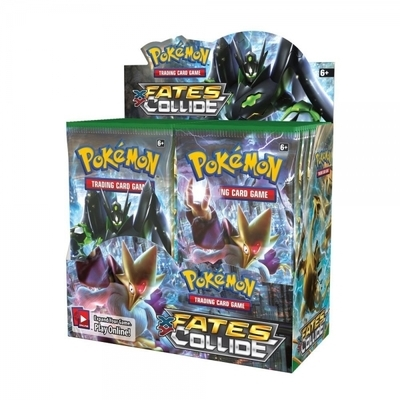 36 Booster Pack XY10 Fates Collide Pokemon Cards English Genuine Sealed Box