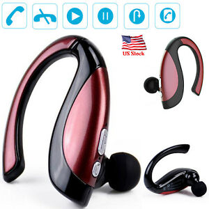 Bluetooth Headset Stereo Earphone Built in Microphone For