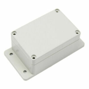 Plastic Electronic Project Box White Waterproof Enclosure Case 100×68×50MM AD