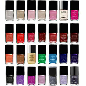 Chanel Nail Color Polishes Choose from 35 Shades Authentic FREE ...
