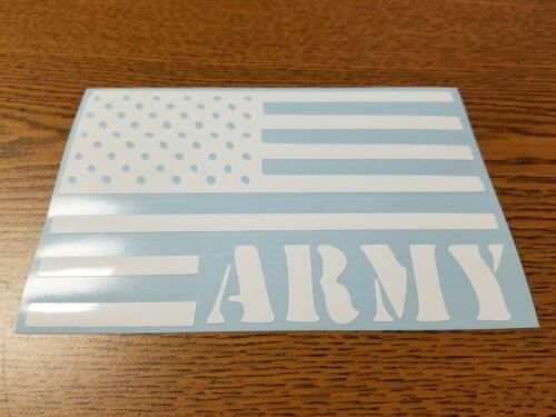 Army American Flag Sticker Window Toolbox Stickers #794 U.S