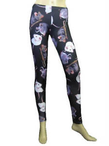 LADIES-CUTE-MOUSE-RATS-PRINT-ALTERNATIVE-LEGGINGS-FANCY-DRESS-8-22-GOTH-PUNK-EMO