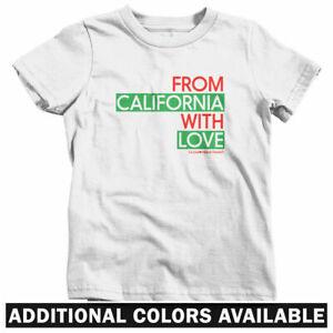 California Youth Shirt California Bear Tshirt for Kids California Gifts Cali Tee
