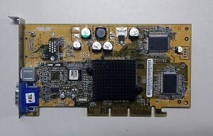 AGP-Grafikkarte-Asus-GeForce4-V8170DDR-64M-S-V-ID9282