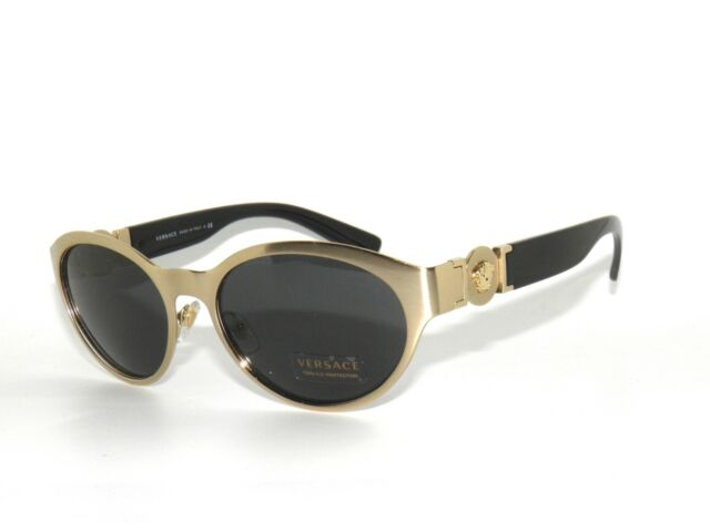 10e9553b21 Versace Sunglasses Women Ve 2179 Gold 133987 Ve2179 55mm for sale ...