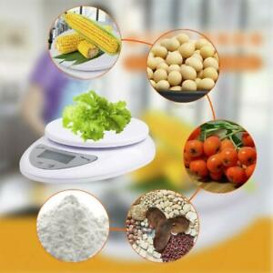 LCD Digital Kitchen Scale Electronic Weight Diet Food Kitchen Balance Best B7J5
