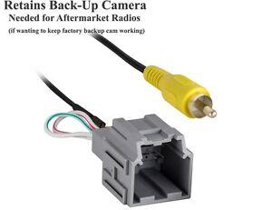 backup camera integration keeps factory cam working w aftermarket radio bk3 ebay. Black Bedroom Furniture Sets. Home Design Ideas