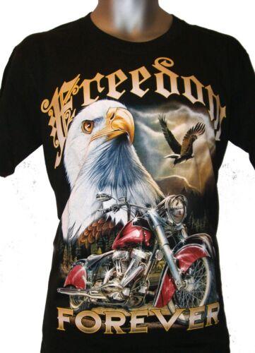 Mens Punk Emo Gothic Black T Shirts Graphic Skull Animal Reaper Designs M L XL