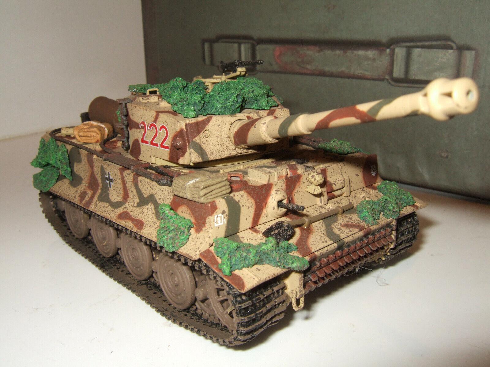 Corgi CC60504 rara splata Kurt Sowa's Tiger 1 Ausf. e, SS Panzers en escala 1 50.