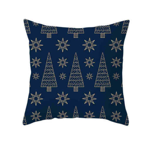 "Cushion Pillow /""MERRY CHRISTMAS/"" Waist Decor Sofa Polyester Cover Home Case"