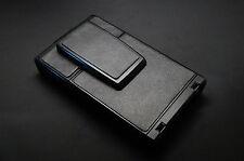 "Polaroid SX-70 ""Distressed Black"" Italian Cowhide PolaSkinz SLR 680."