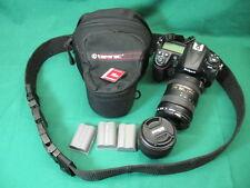 Nikon D300S 12.3 MP Digital SLR Camera + AF-S Nikkor 18-200mm + 50mm Lenses