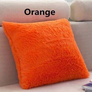 Soft Plush Faux Fur Cushion Cover Pillow Case Home Bed Sofa Decors ... 79260314b