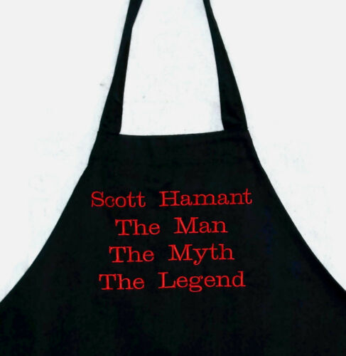 Men/'s Apron Custom Personalize WIth Name AGIFT 004 Man The Myth The Legend