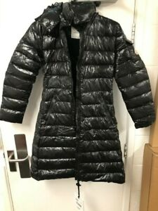 Moncler-Moka-Down-Quilted-Laque-Parka-Jacket-BLACK-size-1-uk10-New-with-Tags
