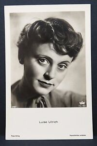 Luise-Ullrich-Ak-Photo-Autogramm-Karte-Photo-Postcard-G-3218