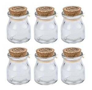 Glass jars with corks Glassnow Image Is Loading 6pieceminiglassjarswithcorklids Ebay Piece Mini Glass Jars With Cork Lids Mini Spice Jars Cork Lids